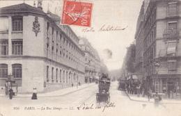 CPA 75 @ PARIS 5 ° @ La Rue Monge - L'Ecole Des Filles Au Fond @ LL 950 - District 05