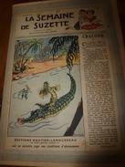 1947 LSDS  (La Semaine De Suzette) :CRACODA, Le Bébé Crocodile ; Etc - La Semaine De Suzette