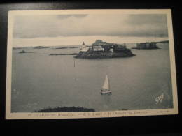 CARANTEC Ile Louet Et Le Chateau Du Taureau Castle Finistere Bretagne Post Card France - Carantec