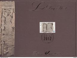 "Herdenkingskaart ""Last Day Sheet"" Mayakalender / Calendrier Maya => Nr 4194 - Cartoline Commemorative"