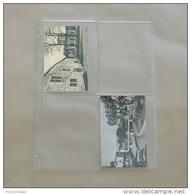 50 Feuilles Transparentes Pour 4 Cartes Postales Anciennes - Matériel