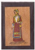 10540  -  SARDEGNA -  COSTUME DI DESULO ( Cartolina In Sughero ) /   VIAGGIATA - Altri