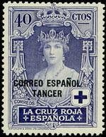 Tanger 031 (*) Cruz Roja. 1926. Sin Goma - Spanish Morocco