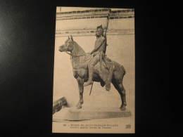 SAINT-GERMAIN-EN-LAYE Saint Germain En Laye Cavalier Gaulois Bronze Horse Yvelines Ile Post Card France - St. Germain En Laye
