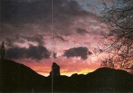 """38. CPM. Isère. Trièves. Le Mont-Aiguille """"Dans La Nuit Des Temps"""" (photo Jean Vallier) (500éme Ann. De L'alpinisme) - France"""