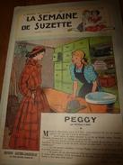 1949 LSDS  (La Semaine De Suzette) :  PEGGY , Par Wallace Carr ; Etc - La Semaine De Suzette