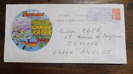 Enveloppe Championnats Du Monde Canoë Kayak 2000 Treignac (19) - Canoa
