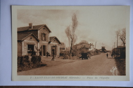 SAINT-YZAN-de-SOUDIAC-place De L'eguille - Andere Gemeenten