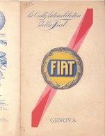 C2118 - CARTA AUTOMOBILISTICA DELLA FIAT De Agostini Anni '30 - GENOVA - Carte Stradali