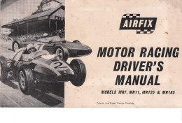 C2142 - MOTOR RACING DRIVER'S MANUAL AIRFIX - AUTOMOBILISMO MANUALE - Circuiti Automobilistici