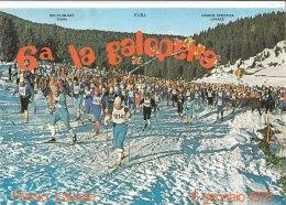 C2145 - SCI CLUB SAT - 6^ LA GALOPERA 1976 - UNIONE SPORTIVA LAVAZE' TRENTO - Sport Invernali