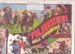 C2170 - FUMETTI - I FILIBUSTIERI DELL'IPPODROMO Casa Editrice Nerbini 1935 - Classic (1930-50)