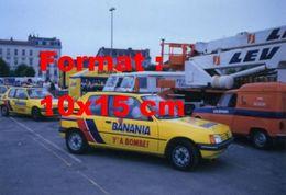Reproduction D'une Photographie Deux Peugeot 205 Publicitaires Banania - Reproductions