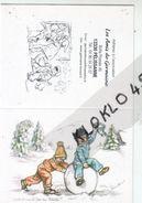 Calendrier De Poche - Illustrateur Germaine Bouret 2009 édité Par Les Amis De Germaine - Surtout Ne Perds Pas La Boule ! - Calendriers
