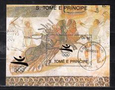 Sao Tome En Principe 1989 Mi Nr Blok 1128 ; Olympische Zomerspelen 1992 Barcelona - Sao Tome En Principe