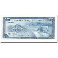 Cambodge, 100 Riels, Undated (1956-72), KM:13b, TTB+ - Cambodia
