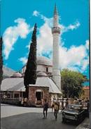 MOSTAR - LA MOSCHEA - VIAGGIATA 1978  - FRANCOBOLLO ASPORTATO - Bosnia Erzegovina