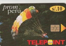 Peru - Telepoint -  Action Sports - Parachut - Peru