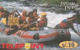 Peru - Telepoint -  Action Sports - Rafting - Peru