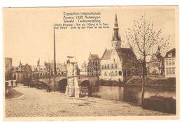 Antwerpen - Oud België - Zicht Op Den Vijver En Den Toren - Expo / Wereld Tentoonstelling 1930 - Ed John Van Den Kieboom - Antwerpen