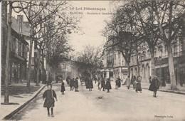 CAHORS  Boulevard  GAMBETTA - Cahors