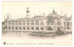 Paris - Exposition Universelle De 1900 - Palais De La Navigation - Bateau / Ship / Schiff - Expositions