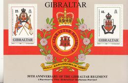 1989 Gibraltar Regiment Military Coat Of Arms   MNH - Gibilterra