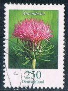 2016 Dauerserie Blumen  (Alpendistel) - Oblitérés