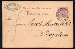 A8670 - Greifswald Nach Torgelow - Ganzsache 1876 - Bedarfspost C. Richter - Deutschland