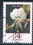 2012 Dauerserie Blumen  (Prachtkerze) - Oblitérés