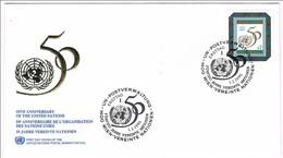 United Nations, 1995, FDC 50 Jahre Vereinte Nationen - Sin Clasificación