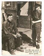 """Pas Connaisseur Photo -BELSEN - Camp De Concentration Nazi -- Au Verso """"tampon Service Photographique""""-WW2- GUERRE 39-45 - War, Military"""