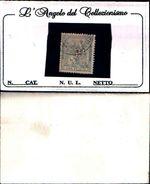 86476) ALEGORIA DE ESPAÑA Nº 134 - AÑO 1873-1p.-lillà-usato - 1870-72 Reggenza