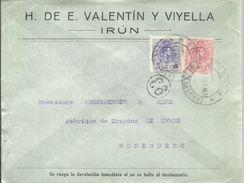 CARTA COMERCIAL IRUN - Cartas