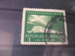 REPUBLIQUE DOMINICAINE YVERT N° SERVICE 19 - Dominicaine (République)