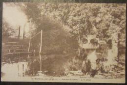 Saint Mars La Jaille - Vue Sur L'Erdre - Circulée Le 17 Septembre 1939 - Sonstige Gemeinden