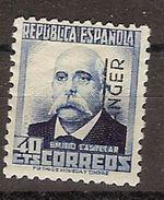 Tanger 093 * Charnela. 1937 - Spanish Morocco