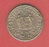 Surinam - 25 Cents - 1966 - KM 6 - Surinam 1975 - ...