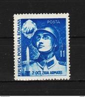 1951 -  Journe De L Arme Mi No 1291 Et Yv No 1167 MNH - Ungebraucht