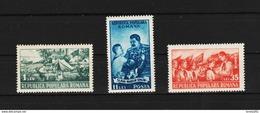 1951 - 2 Anniv. Des Jeunes Pionniers Y&T No 1146/1148 Et Mi No 1259/1261 MNH - Nuevos