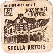 STELLA ARTOIS Brasserie Bière  Expo 58 Belgique 1900 Aux Caves D' Artois  Exposition Internationale 1958 RARE - Sous-bocks