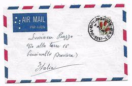 EDB34 - AUSTRALIA , Lettera Del 1973  Da Brunswickper L' Italia - 1966-79 Elizabeth II