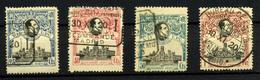 1453- España Nº 303, 305/7 - 1889-1931 Royaume: Alphonse XIII