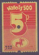 BELGIUM: Spaarzegel – Mint/With Glue: §@§ VALOIS 500 - 5 Fr. §@§: PAARD,CHEVAL,HORSE, - Cachets Généralité