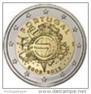 PORTUGAL - 2 Euro Cc  2012 - ( 10 Anos Do Euro  TYE )  UNC - Portugal