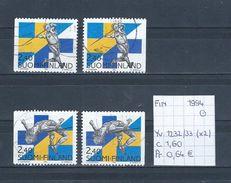 Finland 1994 - YT 1232/33 (2x) Gest./obl./used - Gebraucht
