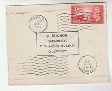 1948 Guernsey GB FDC CHANNEL ISLANDS LIBERATION  Stamps Gb Cover - FDC
