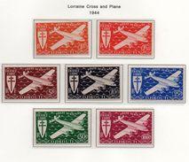Côte Des Somalis YT PA 1-7 XX/MNH - Côte Française Des Somalis (1894-1967)