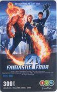 Mobilecard Thailand - 12Call - Movie,Film,cinema  - Fantastic 4 (8) - Kino