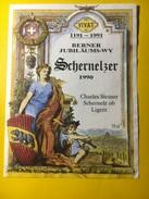 5685 - 1191 - 1991 Berner Jubiäums Wy 800e Anniversaire De La Ville De Berne Schernelzer 1990 - Etiquettes